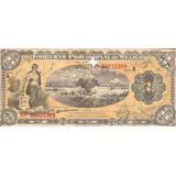 Billete Antiguo 1 Peso 1914 Gobierno Provisional A