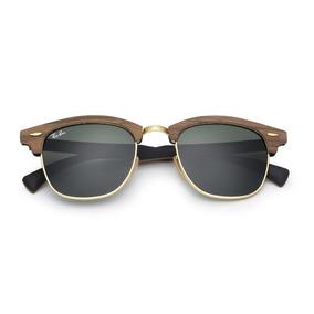 bc1f84bae67a8 Oculos Estilo Ray Ban Pernas De Madeira - Óculos De Sol no Mercado ...