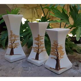 Jarrones Arbol Ceramica Artesanía Mexicana Libano Ja40