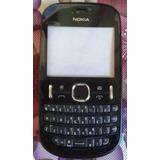 Carcaça Celular Nokia Asha N200 Com Teclado Novo