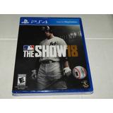 Mlb The Show 18 - Ps4 Playstation 4 - Sellado