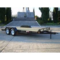 Remolque Cama Baja 3000 Kg Autos,camionetas,motos (carhauler