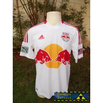 Jersey Red Bulls New York Blanca Local Talla M Formotion Mls