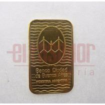 Lingote De Oro 24 Kts.10 G Banco Ciudad Joyeriaeltasador