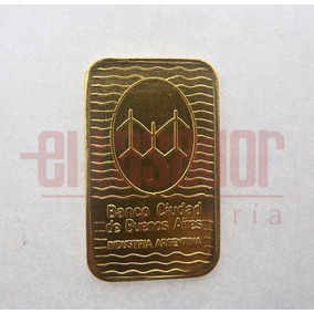 Lingote De Oro 24 K 10 G Banco Ciudad Joyeriaeltasador