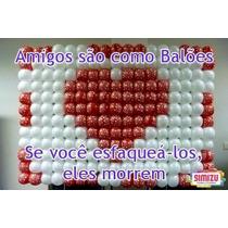 Tela Plastica Para Painel Com Baloes - 2 Kits Na Cor Preta