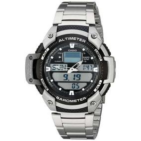 Reloj Casio Sgw400hd-1b Plateado