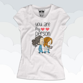 Playeras Greys Anatomy You