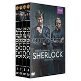 Sherlock Temporadas Importe Temporada 1234 Dvd Bbc Britanica