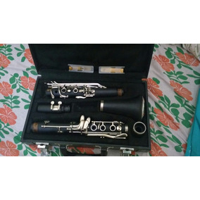 Clarinete,marca Waldman Com 2 Palhetas Rico Royal