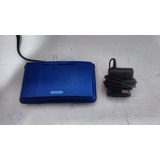Nintendo Ds Fat Color Azul Electrico Funcionando Perfectamen