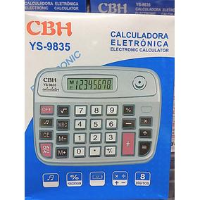 Calculadora Cbh Ys-9835 Eletrônica