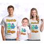 Kit 4 Camisetas Personalizada Aniversário Galinha Pintadinha