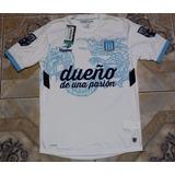 Camiseta Racing Topper Arquero Saja Blanco 2014 Nuevo