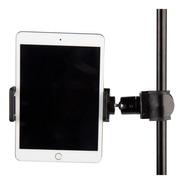 Csa Soporte De Tablet / iPad Con Clamp Para Pie De Micrófono