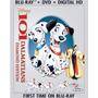 Blu-ray 101 Dalmatians / 101 Dalmatas / Bluray + Dvd
