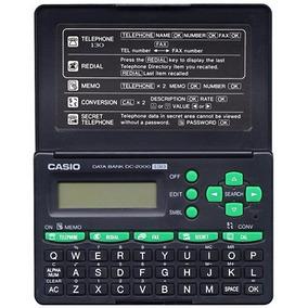 Agenda Eletronica Casio Dc2000 Escritorio Total