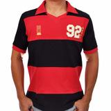 Camisa Flamengo 92 Futebol Retro