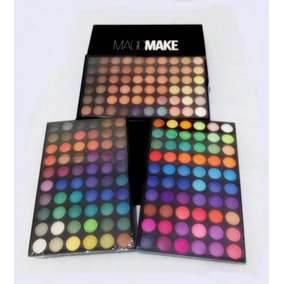 Paleta De Sombras Com 180 Cores - Maquiagem Profissional