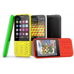 Nokia 220 Pantalla Grande Cámara Flash Dual Sim Radio Mp3