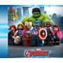 Lego Iron Man Superman Hulk Batman Wolverine Cap America