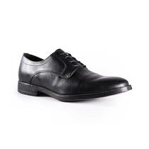 Trender Zapato De Vestir Negro De Piel Lisa