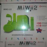 Mi Wii 2 Con Mas De 51 Juegos Interactivos (blanco)
