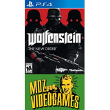 Wolfenstein The New Order - Ps4 - Físico - Mdz Videogames