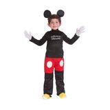 Disfraz De Niño Disney Mickey Mouse 4 A 5 Años