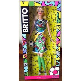 Barbie Britto Mundial Futbol Brasil