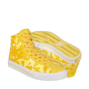 Tenis Urbanos Nike Unisex Textil Amarillo 386198700