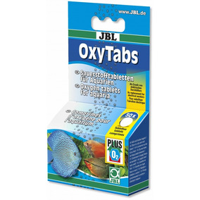 Jbl Oxytabs Oxigenio O2 Em Pastilhas ( 50 Pastilhas )