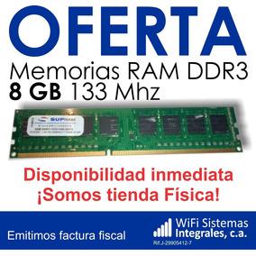 Memoria Ram 8gb Ddr3 133mhz