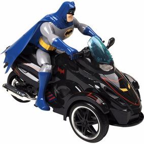 Moto Carrinho Controle Remoto Batman Candide + Boneco