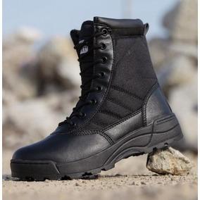 Botas Tácticas Swat, Ideal Para Personal Policial Y Militar