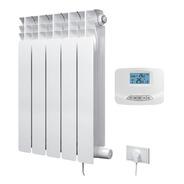 Radiador Eléctrico De 5 Elementos 750w + Termostato Inalambr