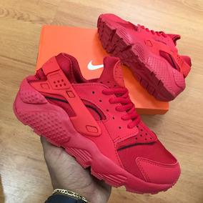 Nike Huarache Rojas Tenis Mercado Nike para Mujer en Mercado Tenis Libre Colombia 70f285