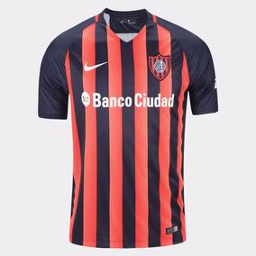 Camiseta Oficial Nike San Lorenzo Stadium 2017 Niño Dxt