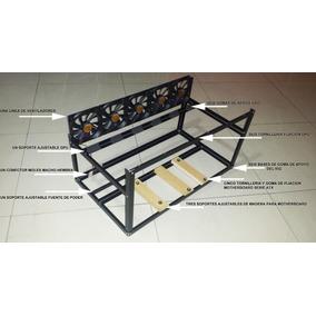 Rig Rack Case Mineria Miner 6 Gpu Con Ventiladores Incluidos