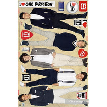 Poster Autoadherible One Direction Fathead