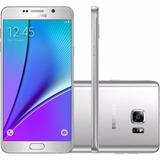 Samsung N920 Galaxy Note 5 4g 32gb 16mp Prata 32gb | Vitrine