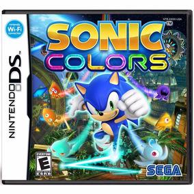 Jogo Sonic Colors Ds Novo Lacrado + Pôster Brinde