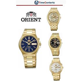Reloj Orient, Automático,dorado, Para Hombre,mujer,