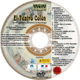 Dvd El Teatro Colón 2017 Con Booklet En Terciopelo Y Oro
