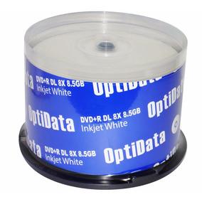 Dvd Dual Layer O Doble Capa Optidata 8.5gb 8x Paq. 50 Unidad