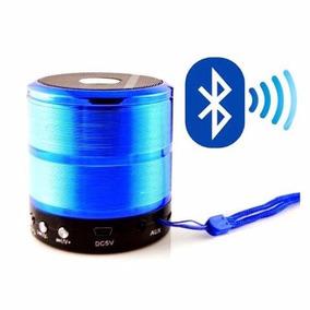 Mini Caixa Som 5w Bluetooth Wireless Mp3 Fm Sd Usb Ws-887