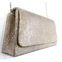 Bolsa Carteira Clutch Festa Bolsinha Casamento Ouro Glitter