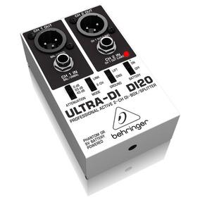Caja Directa Behringer Activa Ultra Di Di20