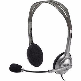 Fone De Ouvido Headset Logitech H110 Ajustavel Frete Gratis