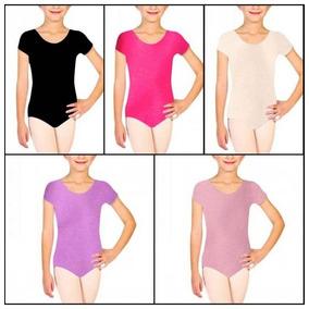 Mallas De Ballet Danza Leotardo Body Gimnasia Niñas Damas